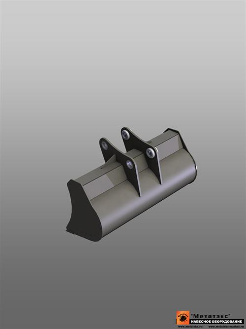 Ковш планировочный для JCB JS330 2000 мм (0,85 куб. метра) - фото 11798