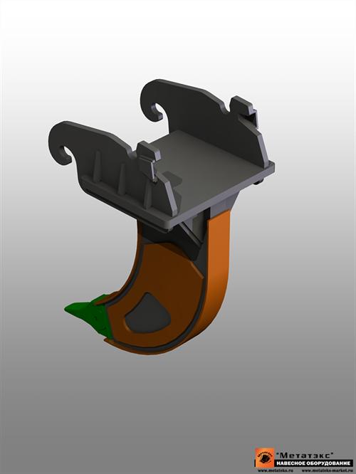 Клык-рылитель для  JCB JS330 1500 мм - фото 17246