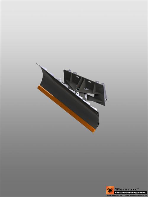 Отвал для уборки снега для JCB 3cx (гидравлический поворот) - фото 17769