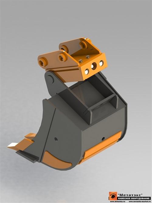 Механическое быстросъемное устройство для мини экскаваторов - фото 24196
