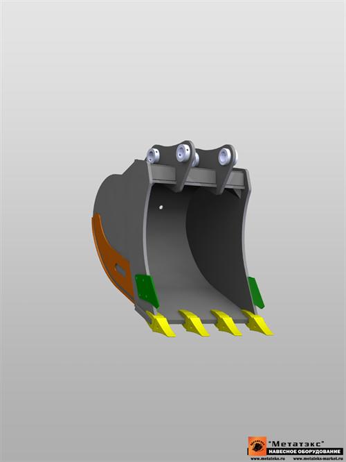 Ковш универсальный для JCB JS330 1.0 куб. метр (1100 мм) - фото 8840