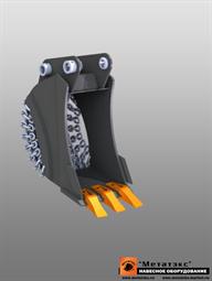 Ковш специальный траншейный для мини-экскаваторов (300 мм)