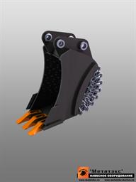 Ковш специальный траншейный для мини-экскаваторов (400 мм)