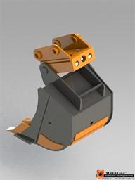 Механическое быстросъемное устройство для мини экскаваторов