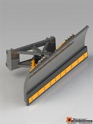 Снеговой отвал для мини-погрузчика 2000 мм  (механический  поворот)