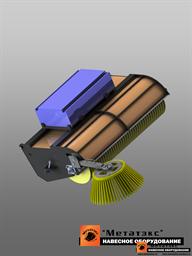 Щетка с бункером для мини-погрузчиков (1800 мм)