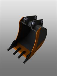 Универсальный ковш для экскаватора-погрузчика (600 мм)