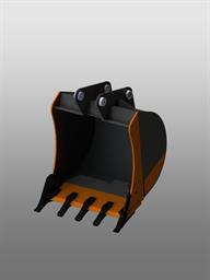 Универсальный ковш для экскаватора-погрузчика (800 мм)