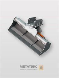 Поворотный планировочный ковш для JCB 3CX 1200 мм (0,2 куб. метра)