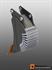 Ковш специальный траншейный для экскаваторов-погрузчиков (400 мм) - фото 23263